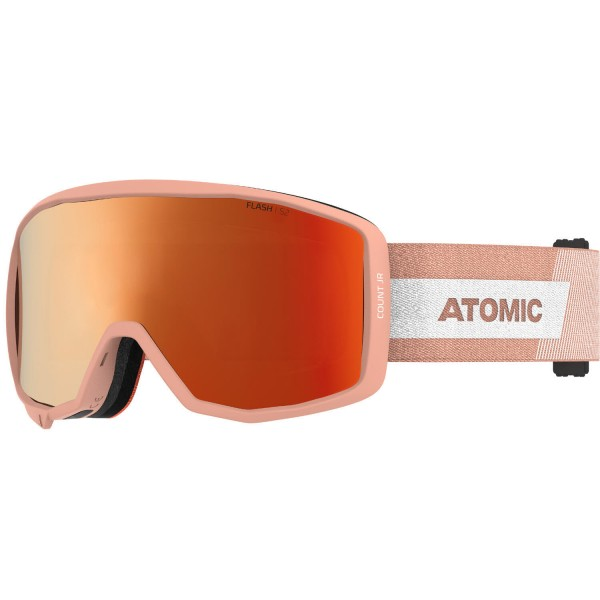 Atomic COUNT JR CYLINDRICAL Peach Skibrille