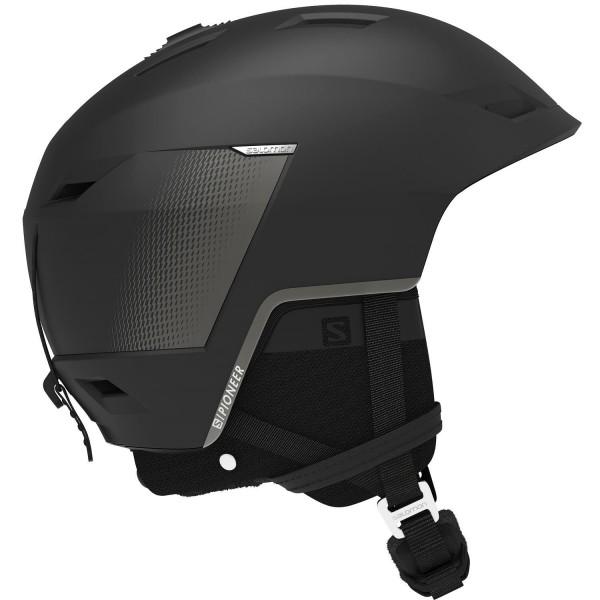 Salomon Helm PIONEER LT CA Black Tech L 596 Skihelm