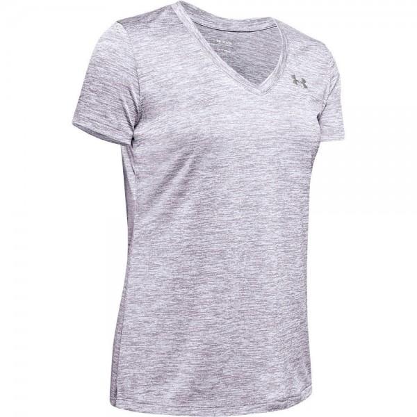 Under Armour Tech SSV - Twist,Crystal Lilac / Wh T-Shirt - Bild 1