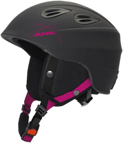 Alpina JUNTA2.0 Skihelm,schwarz-pink