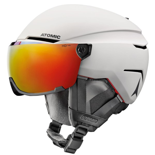Atomic SAVOR AMID VISOR HD White Helm