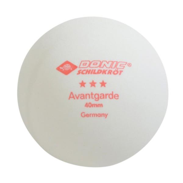 Donic Schildkröt TT-Ball 3 Stern Avantgarde 40mm Tischtennisball - Bild 1