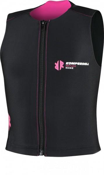 Komperdell Pro Vest ECO Junior, schwarz-pink Protektor