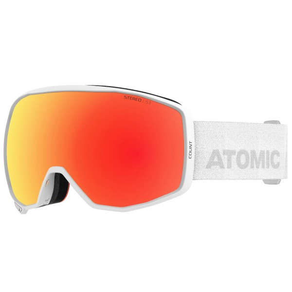 Atomic COUNT STEREO White Skibrille