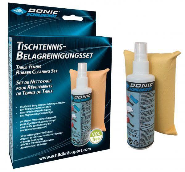 Donic-Schildkroet TT- Belag-Reinigungsset,Keine Farbe
