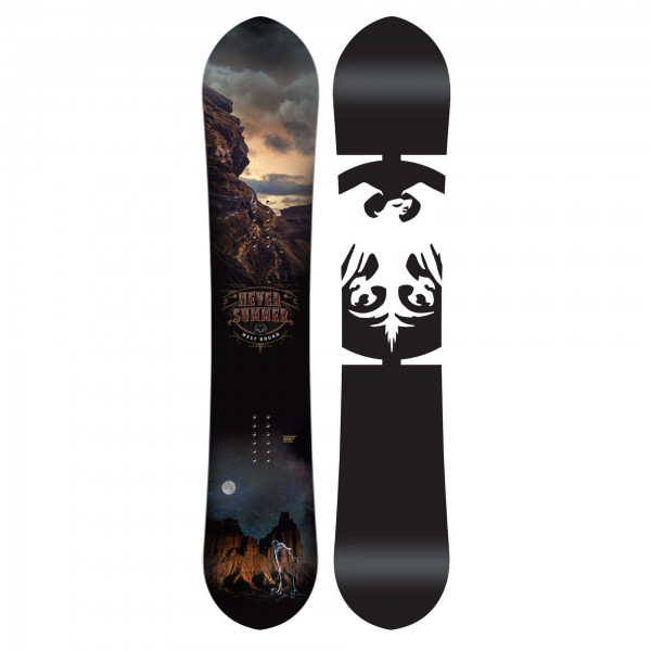 West Bond DF extra wide Snowboard - Bild 1