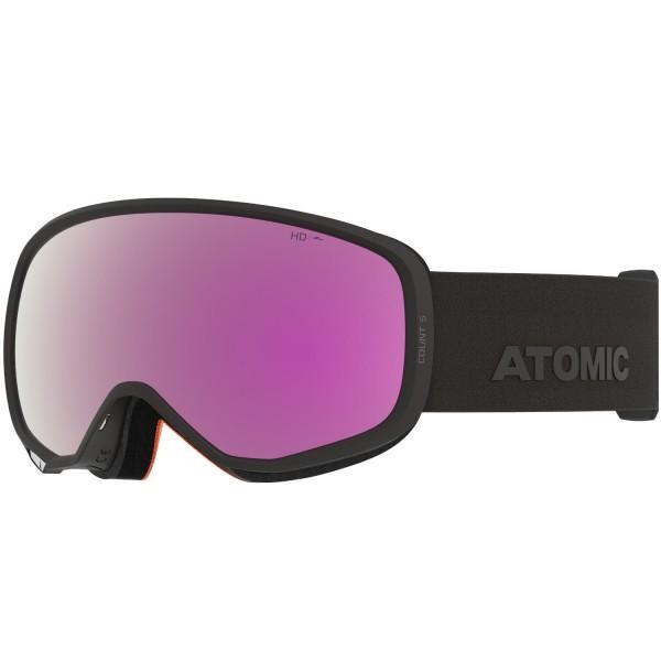 Atomic COUNT S HD Black Skibrille