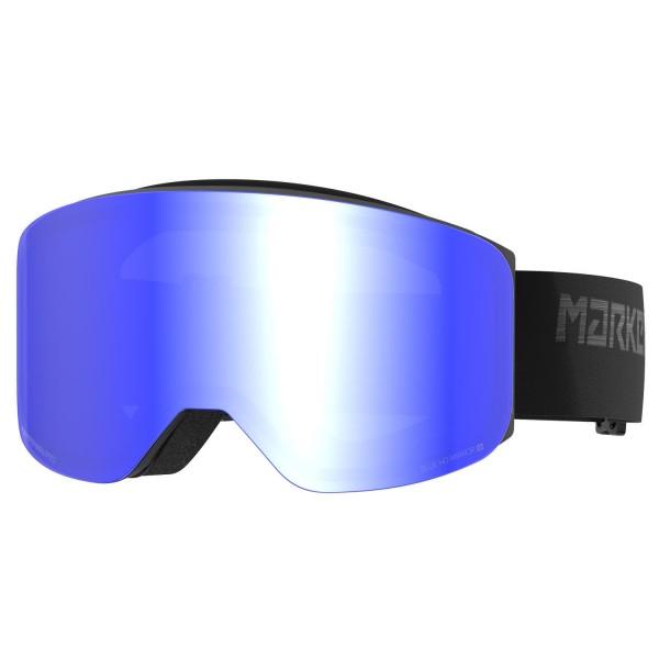 Marker SQUADRON BLACK w/RED PLASMA MIRROR Skibrille