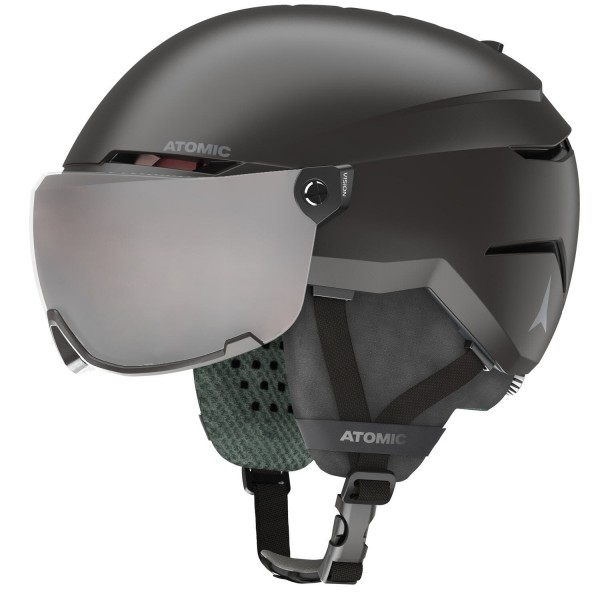 Atomic SAVOR VISOR JR Black Skihelm