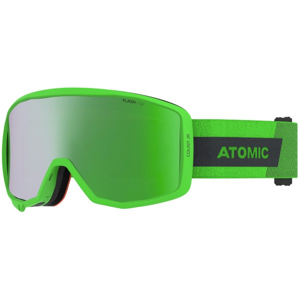 Atomic COUNT JR CYLINDRICAL Green Skibrille
