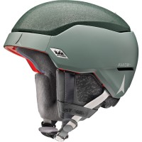 Atomic COUNT AMID Dark Green Skihelm