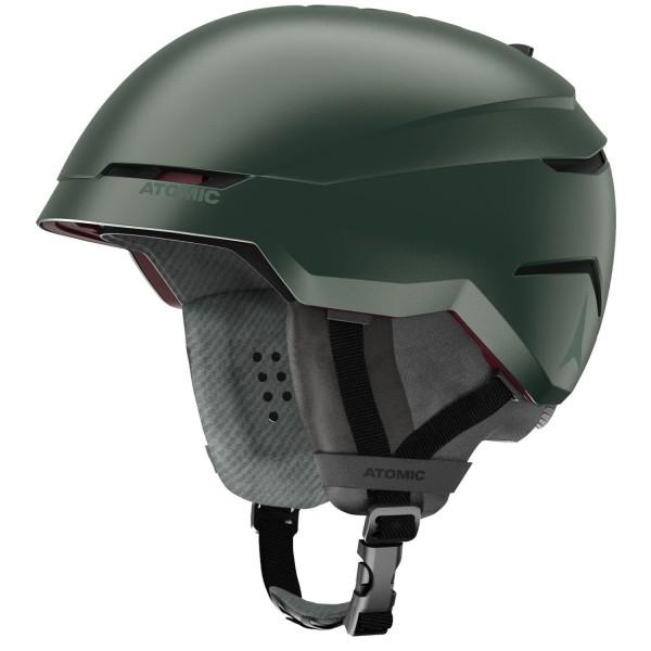 Atomic SAVOR AMID Dark Green Skihelm