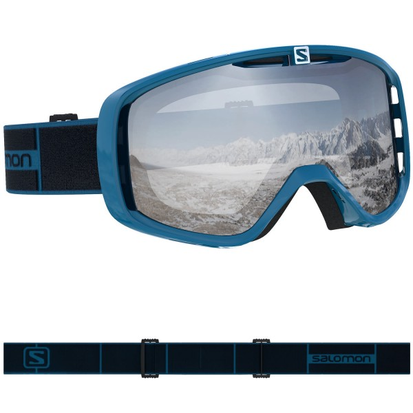 Salomon AKSIUM Navy Blue/Univ Super Wh NS Skibrille