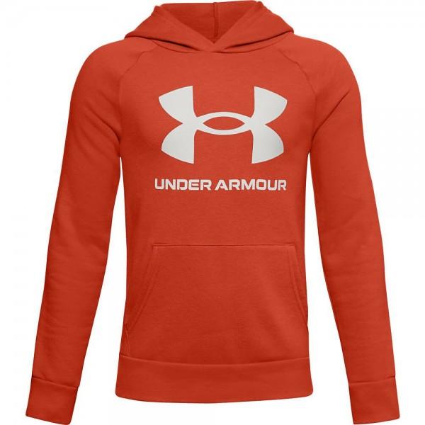 Under Armour UA RIVAL FLEECE HOODIE,Rich Orange Sweat - Bild 1