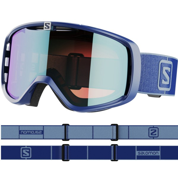 Salomon AKSIUM PHOTO Navy/AW Blue NS Skibrille