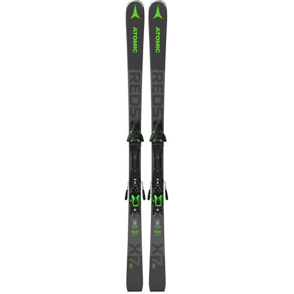 Atomic REDSTER X7 WB green + F 12 GW Grey Racecarver