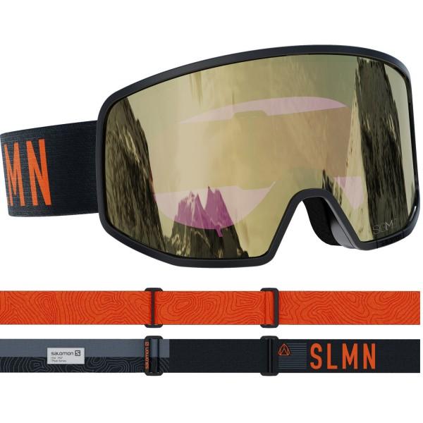 Salomon LO FI SIGMA BkGrey/Sol BkGold NS Skibrille