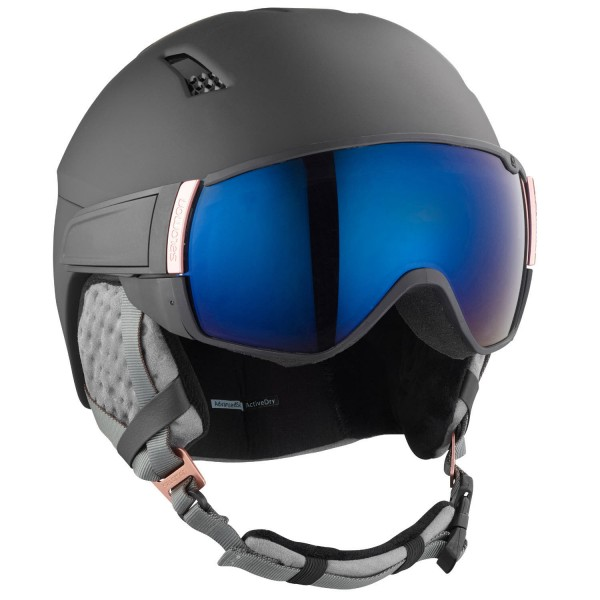 Salomon HELMET MIRAGE S Black/Rose Gold/Uni Helm
