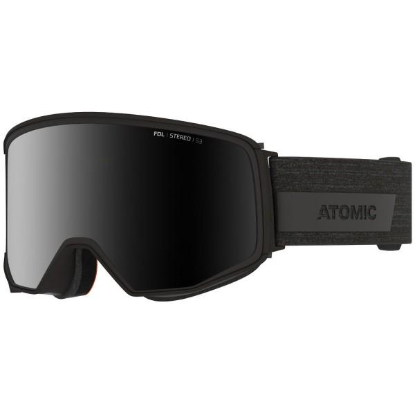 Atomic FOUR Q STEREO Black Skibrille