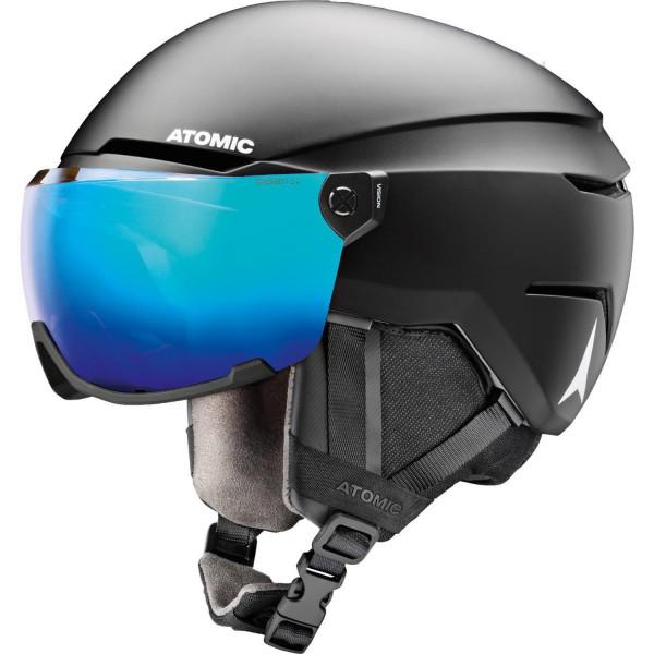 Atomic SAVOR VISOR STEREO Black Helm