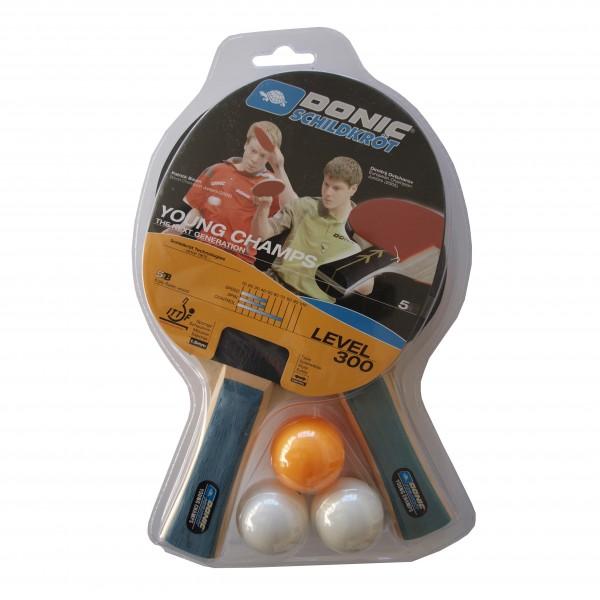 Donic Schildkröt TT-Set Level 300 Tischtennisschläger