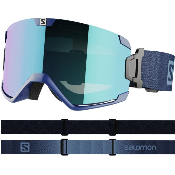 Salomon COSMIC Bold Blue/Univ Mid Blue NS Skibrille