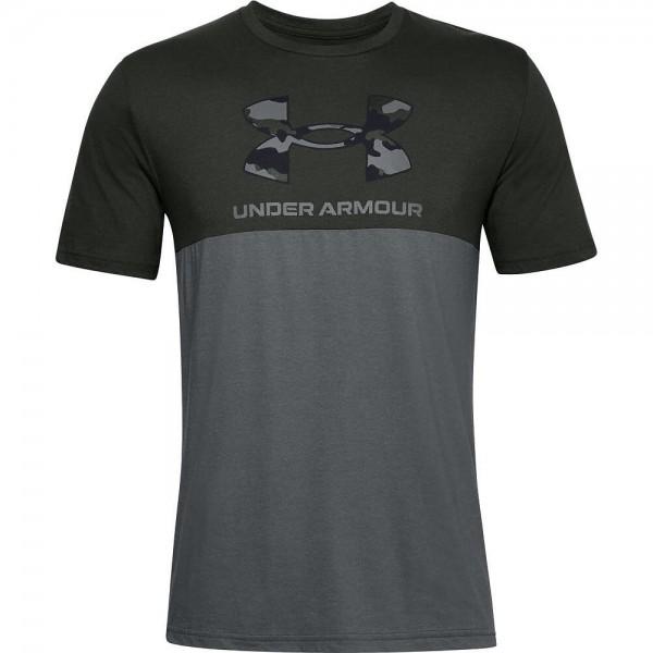 Under Armour UA CAMO BIG LOGO SS,Baroque Green / T-Shirt - Bild 1