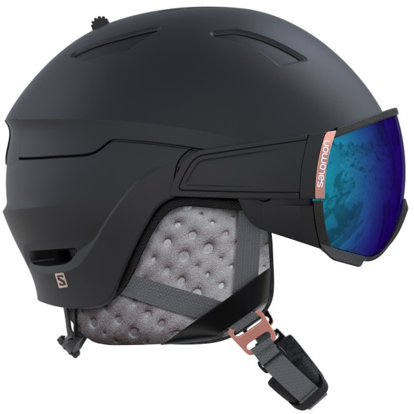 Salomon HELMET MIRAGE Black/Rose Gold/Solar Helm